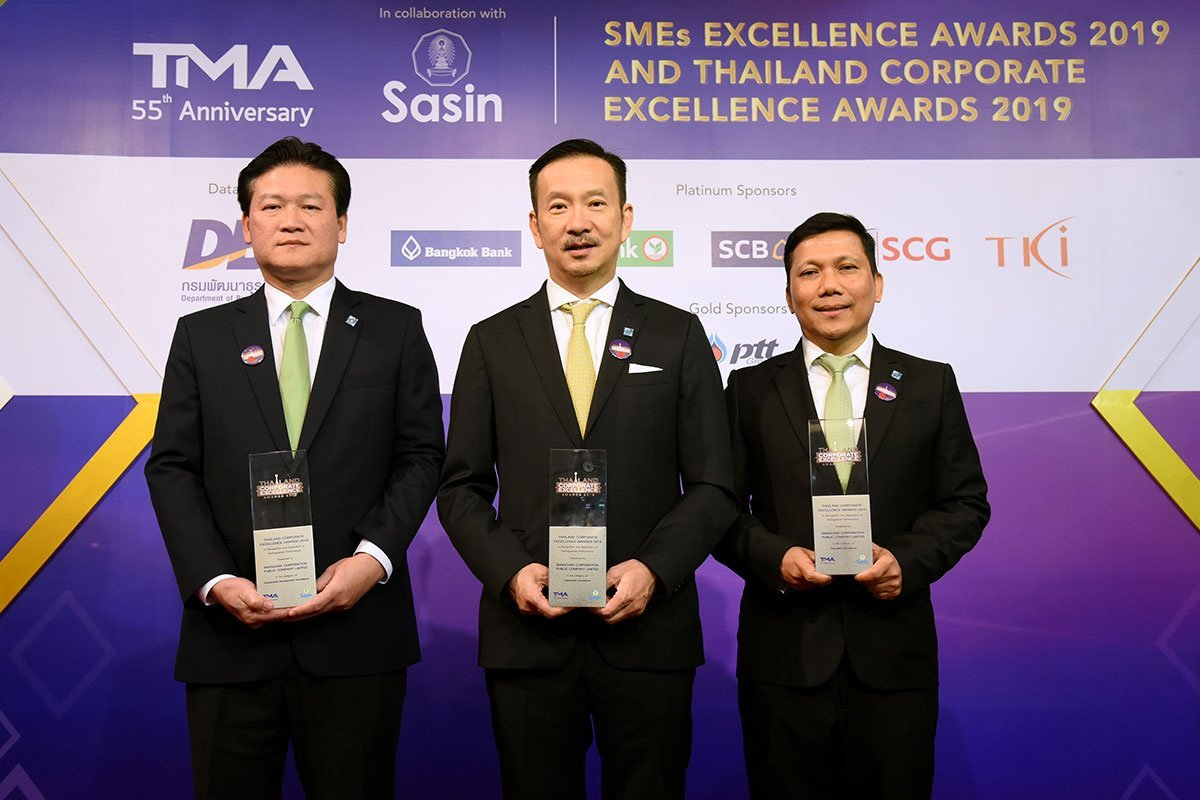 Thailand Corporate Excellence Awards 2019 and SMEs Excellence Award