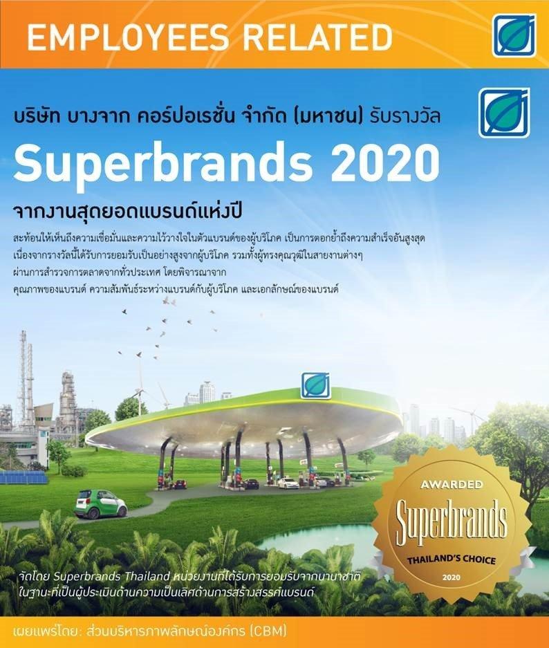 Superbrands 2020 สุดยอดแบรนด์แห่งปี