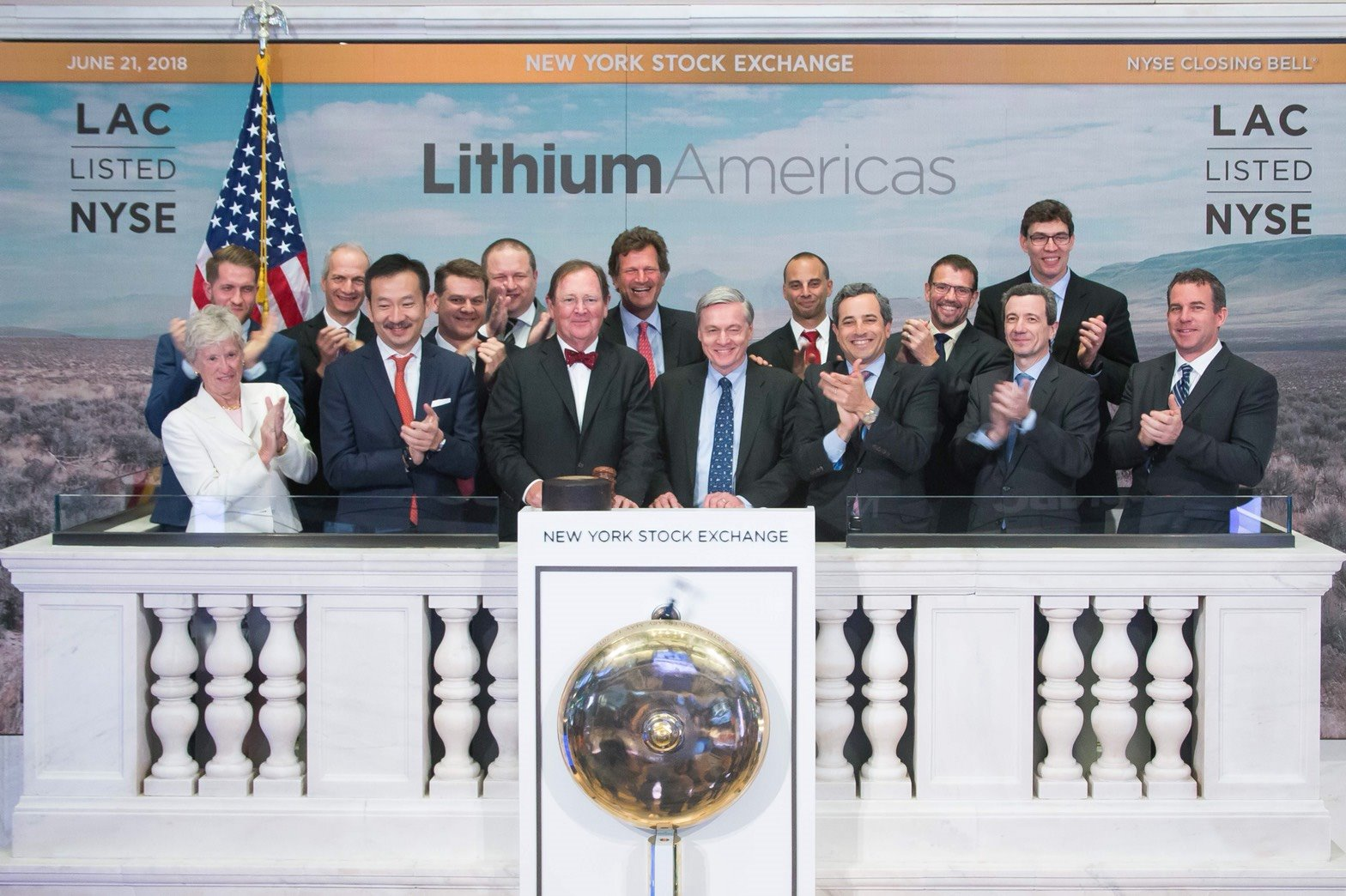 บางจากฯ – ลิเทียมอเมริกา ร่วมพิธี NYSE : Closing Bell