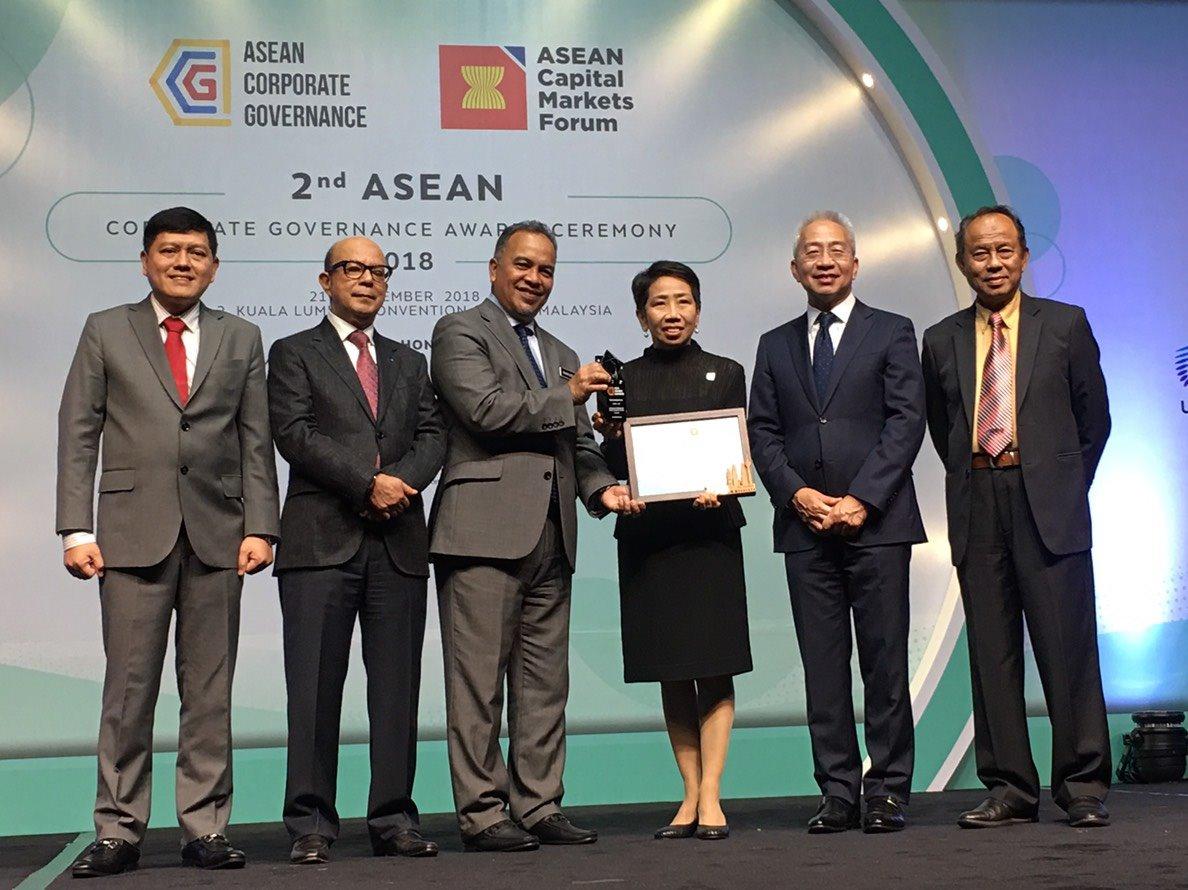 BCP Receives 2nd ASEAN Corporate Governance Award (Top 50 ASEAN PLCs)