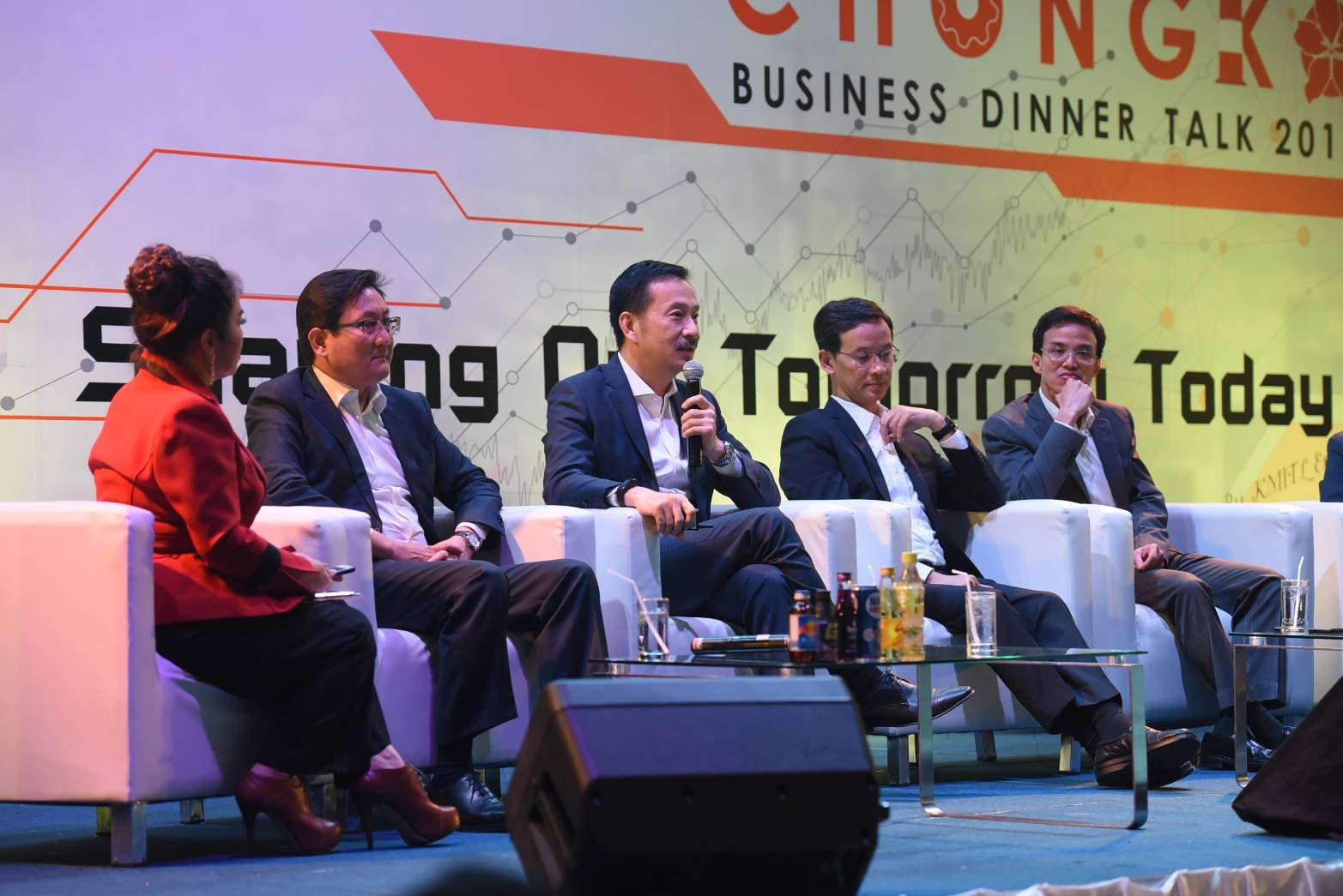 BCP CEO joins Chongko Business Dinner Talk 2018
