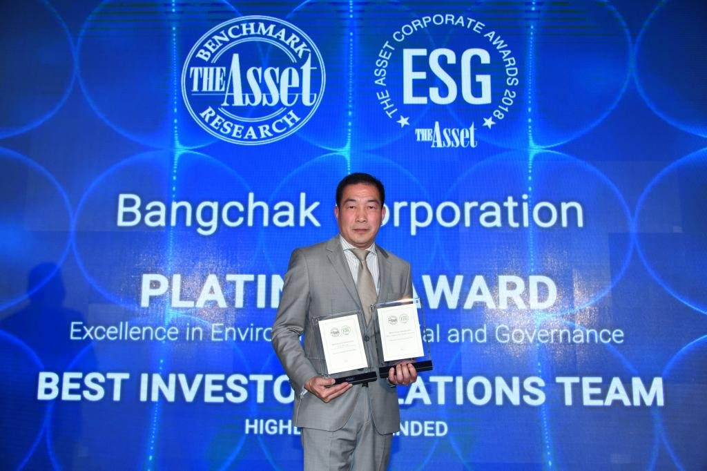 BCP received 2 international awards at the The Asset Corporate Awards 2018