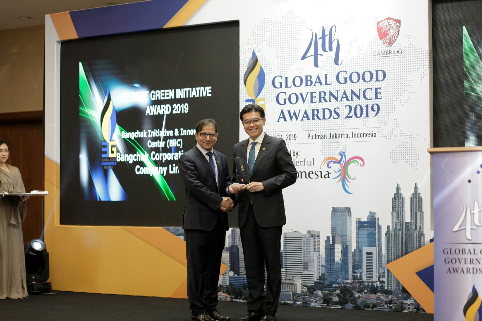 Bangchak Shines at International 3G Awards Event for Second Year in a Row