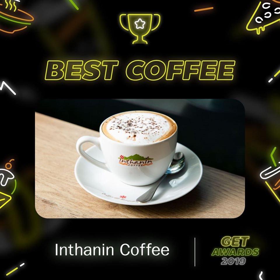 Bangchak's Inthanin Coffee Wins Best Coffee Award