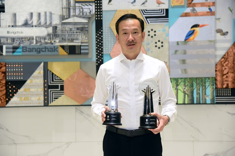 Bangchak CEO Ranks among First Two Thais to Win Responsible Business Leadership Accolade from Asia Responsible Enterprise Awards 2020