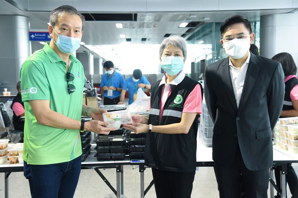 Bangchak supports small businesses and public well-being